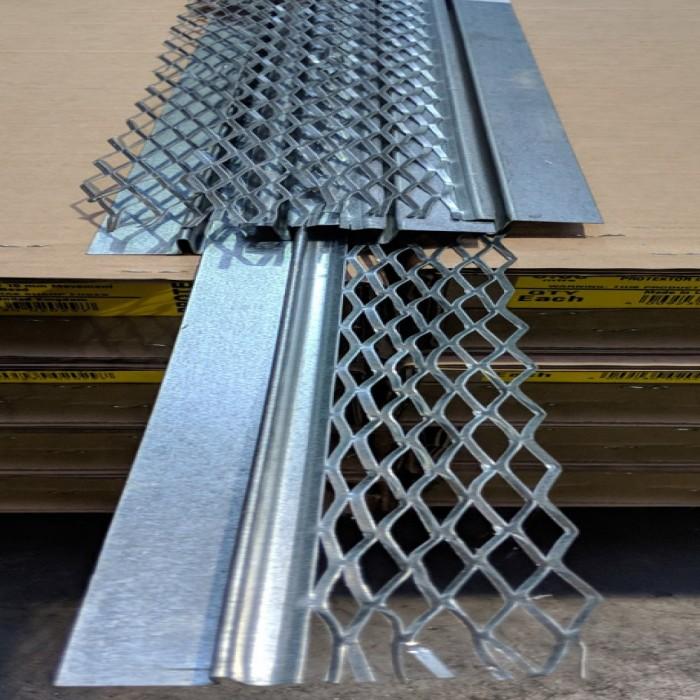 Protektor Galvanised Steel 14mm Architrave Bead 3m 1 Length