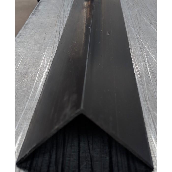 Wemico Black PVC 90 Degree Angle Facade Profile 65mm x 65mm x 2.5m 1 Length