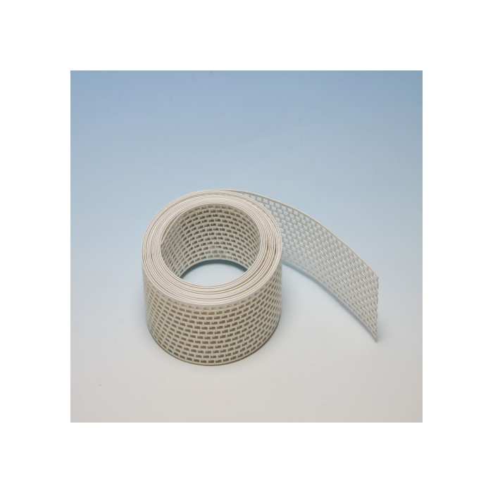 Protektor 100mm PVC  White Ventilation Strip (5M Roll)