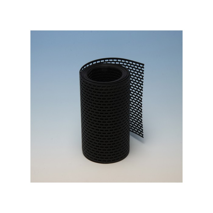 Protektor 150mm PVC  Black Ventilation Strip (5M Roll)