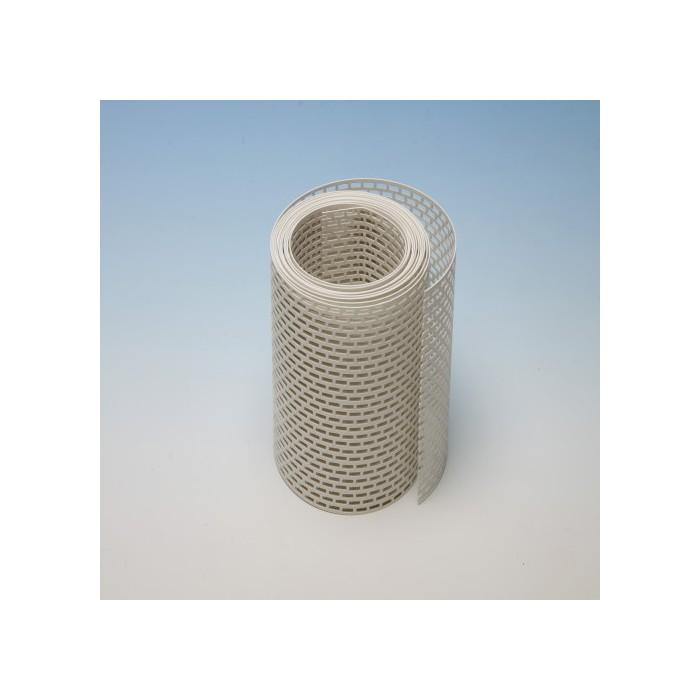 Protektor 150mm PVC  White Ventilation Strip (5M Roll)