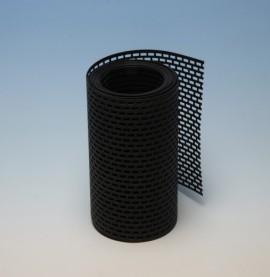 Protektor 180mm PVC  Black Ventilation Strip (5M roll)