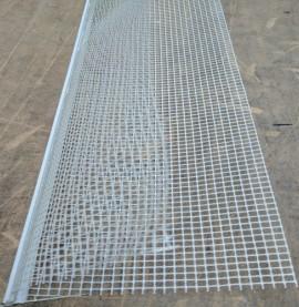Protektor Corner Bead With Fibre Glass Mesh 5mmx 11.5mm x  2.5m (1 length)