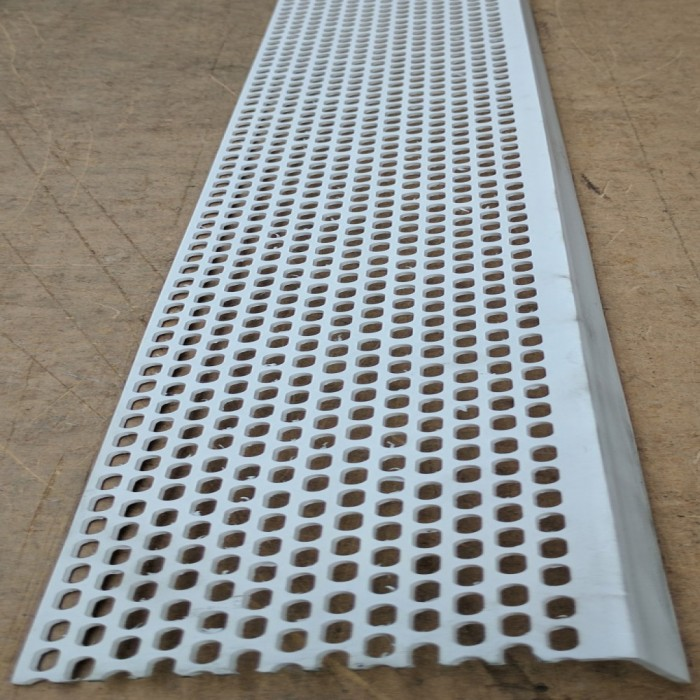 Wemico 30mm x 50mm x 2.5m White PVC Ventilation Angle 1 length
