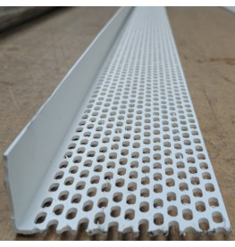 Wemico 30mm x 90mm x 2.5m White PVC Ventilation Angle 1 Length
