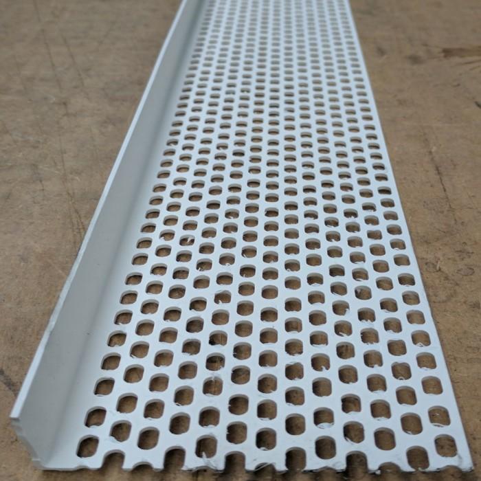 Wemico 30mm x 90mm x 2.5m White PVC Ventilation Angle (1 length)