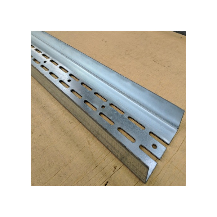 Protektor Galvanised Steel Door Frame Profile Partition Wall 123mm x 40mm x 4m (1 length)