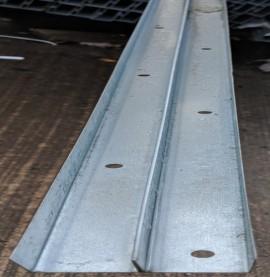 Protektor Galvanised Steel DIN Perimeter Profile 3m (1 length)