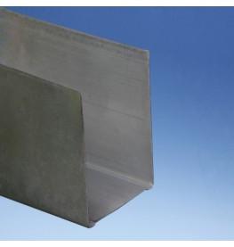 Protektor 72mm Extra Deep Galvanised Steel Track Profile 3m 1 Length