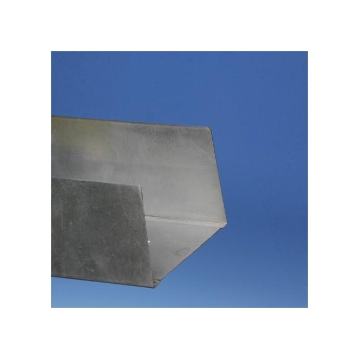 Protektor 92mm Deep Galvanised Steel Track Profile 3m Box 10