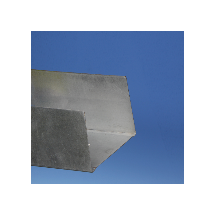 Protektor 92mm Extra Deep Galvanised Steel Track Profile 3m Box 10