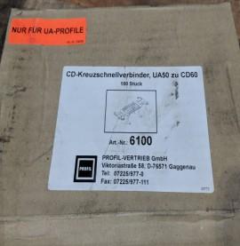Protektor Galvanised Steel Quick Cross Connector (box 100)