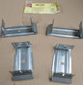 Galvanised Steel Adjustable Swivel Bracket 30 x 60 x 32mm (box 100)