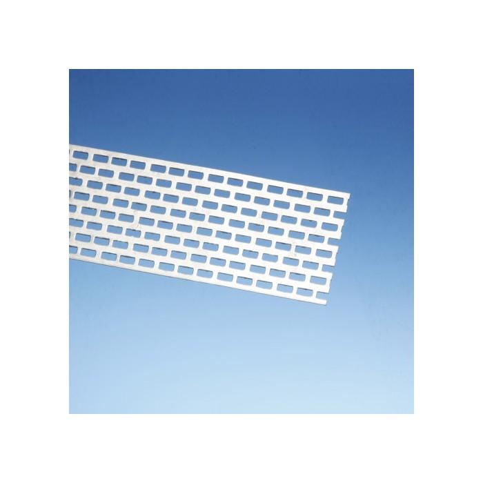 Protektor 50mm Aluminium Ventilation Strip 0.8mm x 250 cm (1 length)