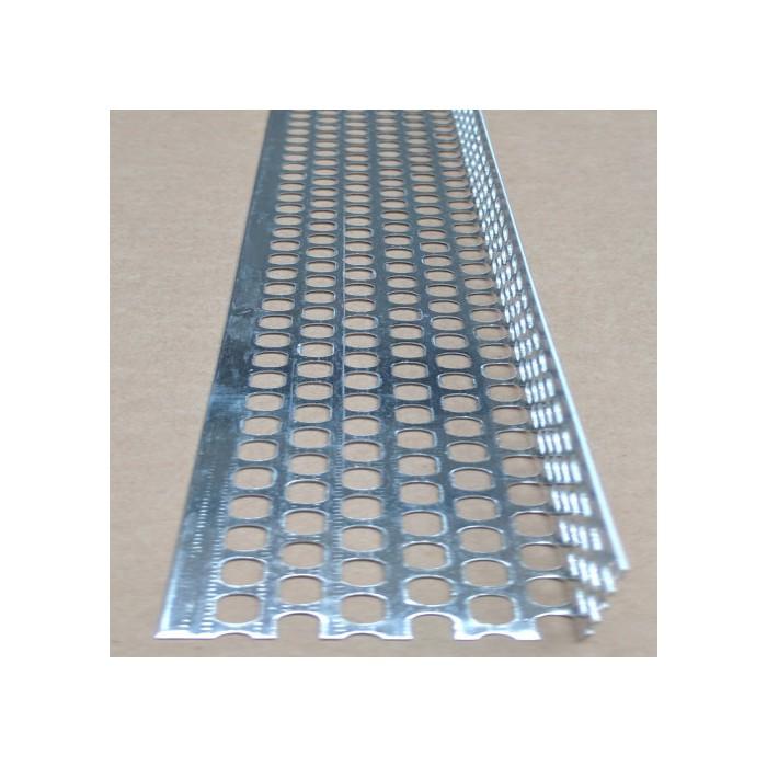 Aluminium Ventilation Angle 30mm x 40mm x 0.6mm x 2.5m (1 length)