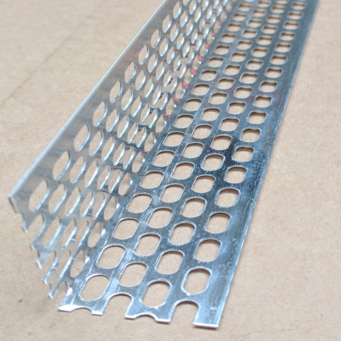 Aluminium Ventilation Angle 30mm x 40mm x 0.6mm x 2.5m 1 length