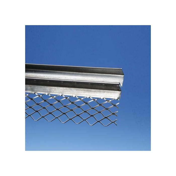 Protektor 13mm Galvanised Steel Architrave Bead 3.0M (box 25)