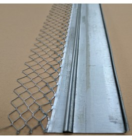 Wemico 30mm Galvanised Architrave Bead With Return 3m 1 Length