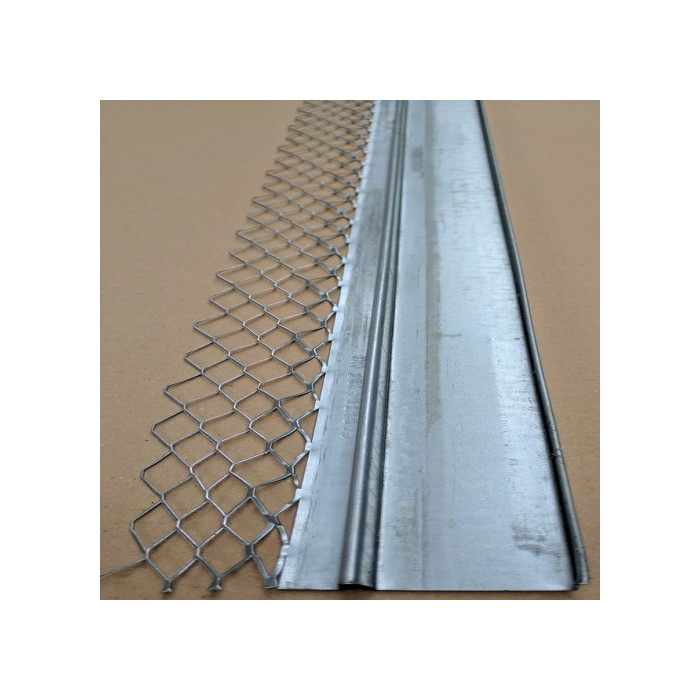 Protektor 30mm Galvanised Architrave Bead With Return 3.0m (1 length)