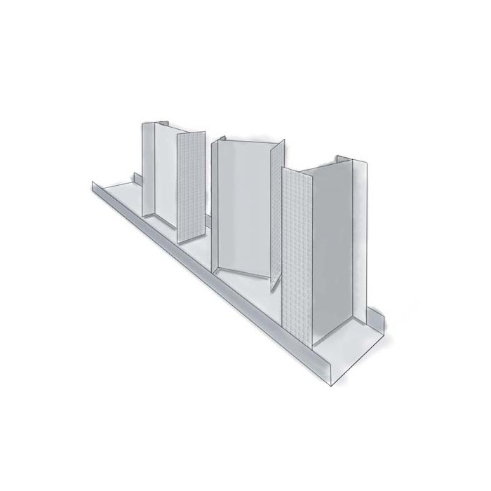 Protektor Drywall Galvanised Steel I-Stud Partitioning 38mm x 50mm x 38mm x 3m 1 LengthFI50/3000 (38 x 50 x 38)