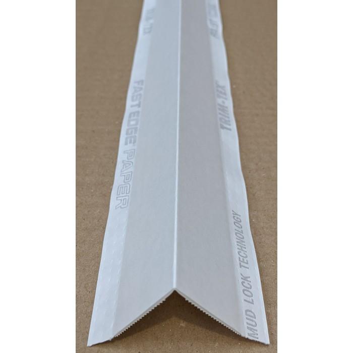 Trim Tex White Paper Faced Corner Bead 2.4m 1 Length FEP08