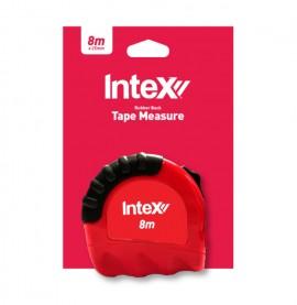 Intex 8m Rubber Back Tape Measure 25mm Wide