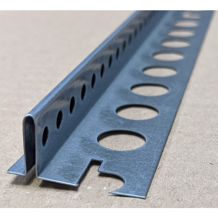 Protektor Galvanised Steel Feature Bead with 5mm Gap 3m 1 Length
