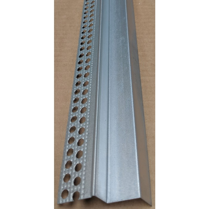 Protektor Double Step Galvanised Feature Bead 14mm Shadow Gap 3.0M (1 length)