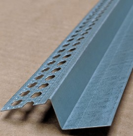 Protektor Single Step Shadow Gap Galvanised Steel Feature Bead 14 mm x 19 mm x 25 mm x 3m 1 length