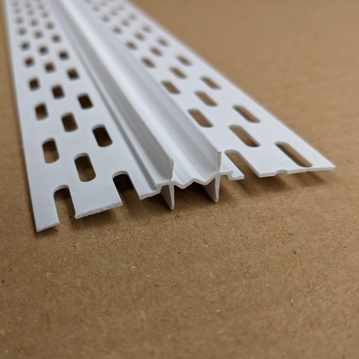 Protektor 2mm PVC Movement Joint Profile 3.05m 1 length