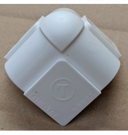 Trim-Tex 3 Way Plastic Adapter for 3/4