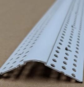 Trim-Tex 350 Bullnose Splayed Corner Bead White PVC 3m 1 Length 35030