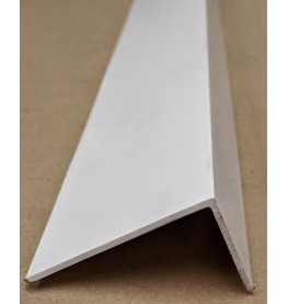 Wemico White PVC 90 Degree Angle Facade Profile 30mm x 60mm x 2.0mm x 2.5m 1 Length SALE