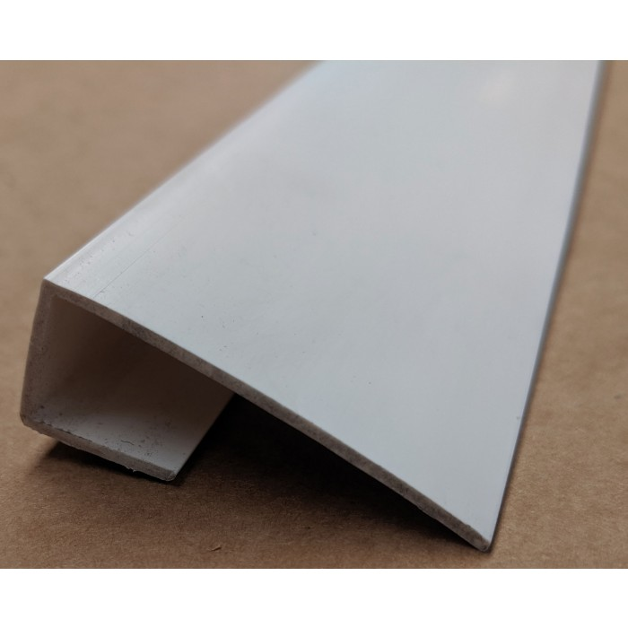 Wemico 42mm x 13mm x 15mm White PVC Edge Channel Profile U Profile