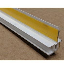 White PVC Self Adhesive Window / Door Frameseal Bead 13mm Render Depth 2.6m 1 Length