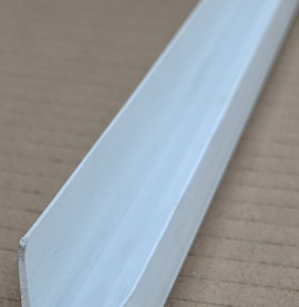 Wemico White PVC Channel Profile 20mm x 10mm x 12.5mm x 2.5m 1 length