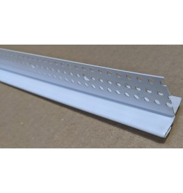 Trim Tex PVC Edge Bead with Removable Protective Strip 12.5mm x 27mm Trim-Tex Part Code 3010 3m 1 Length