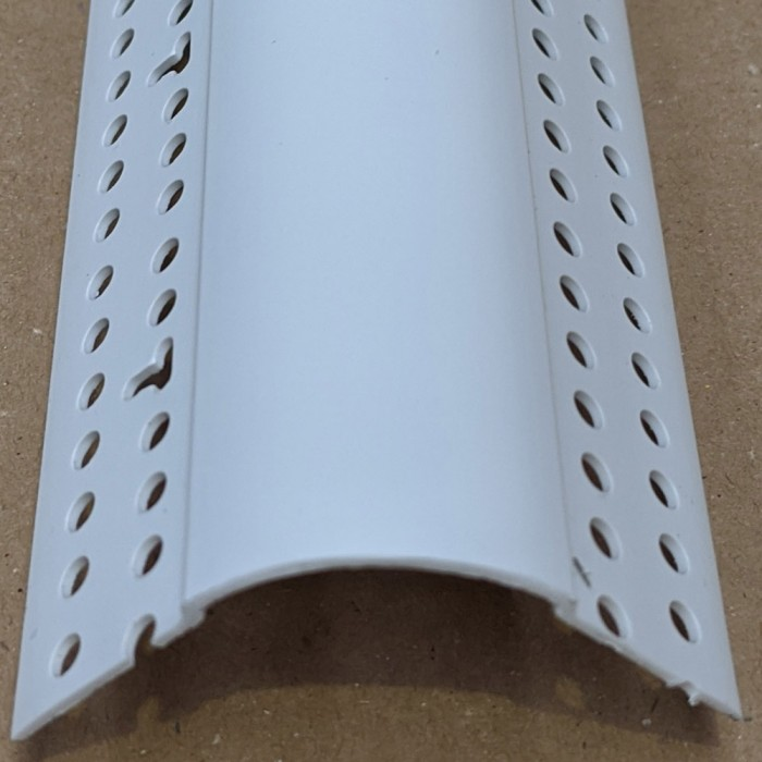 Trim-Tex 21 mm x 27 mm PVC Bullnose Corner Bead 3.05m 1 length 7010