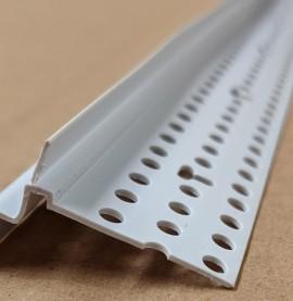 Trim-Tex Caulk Channel Tear Away PVC Bead 3m 1 Length 9140