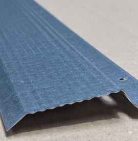 Protektor Galvanised Steel Resilient Bar 40mm x 14mm x 13.5mm x 2.4m 1 length