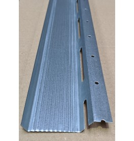 Protektor Galvanised Steel Resilient Bar 48mm x 17mm x 14mm x 3m 1 length
