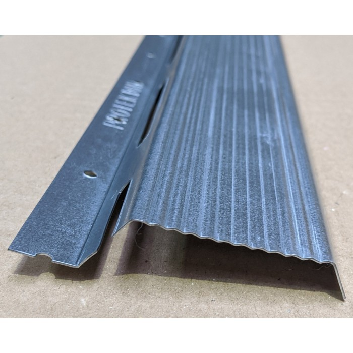 Protektor Galvanised Steel Resilient Bar 48mm x 17mm x 14mm x 3m 1 length