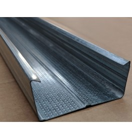 C Ceiling Profile with Square Return 27mm x 60mm x 3m 1 Length