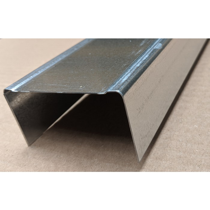 U Wall track profile 40mm x 75mm x 4m (1 length)