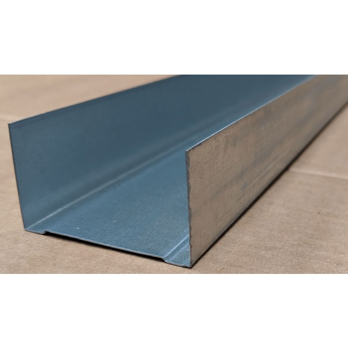 Protektor 52mm Standard Galvanised Steel Track Profile 3m 1 Length