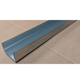 Protektor 62mm Deep Galvanised Steel Track Profile 3m 1 Length