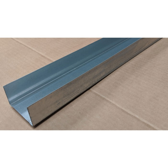 Protektor 52mm Deep Galvanised Steel Track Profile 3m 1 Length