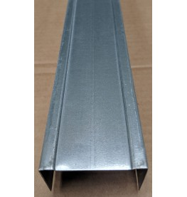 Protektor 94mm Standard Galvanised Steel Track Profile 3m 1 Length