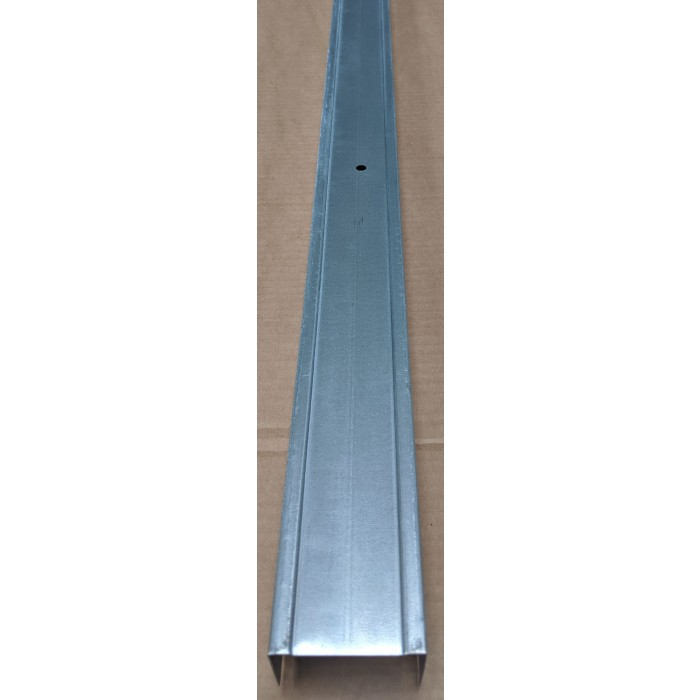 Protektor 52mm Standard Galvanised Steel Track Profile 3m 1 Length