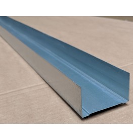 Protektor 62mm Standard Galvanised Steel Track Profile 3m 1 Length